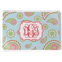 Blue Paisley Serving Tray (Personalized)