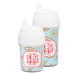 Blue Paisley Sippy Cup (Personalized)