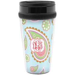 Blue Paisley Travel Mug (Personalized)