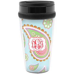 Blue Paisley Travel Mug (Personalized)