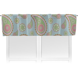 Blue Paisley Valance (Personalized)