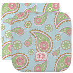 Blue Paisley Facecloth / Wash Cloth (Personalized)