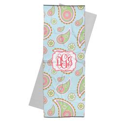 Blue Paisley Yoga Mat Towel (Personalized)