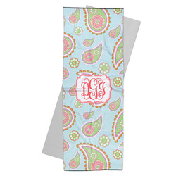 Blue Paisley Yoga Mat Towel (Personalized)