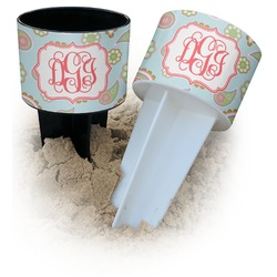 Blue Paisley Beach Spiker Drink Holder (Personalized)