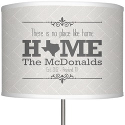 """Home State 13"""" Drum Lamp Shade (Personalized)"""