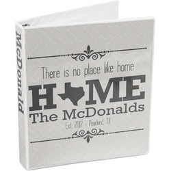 Home State 3-Ring Binder (Personalized)