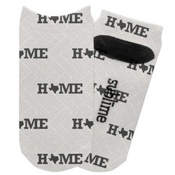 Home State Adult Ankle Socks (Personalized)