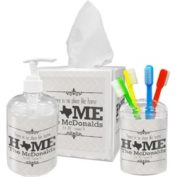 Home State Bathroom Accessories Set (Personalized)