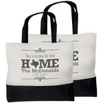 Home State Beach Tote Bag (Personalized)