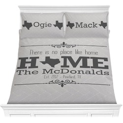 Home State Comforter Set (Personalized)