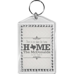 Home State Bling Keychain (Personalized)