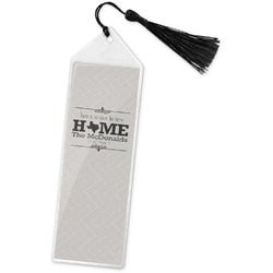 Home State Book Mark w/Tassel (Personalized)