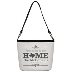 Home State Bucket Bag w/ Genuine Leather Trim (Personalized)