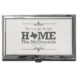 Home State Business Card Holder
