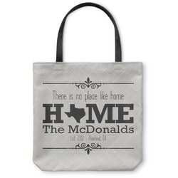 Home State Canvas Tote Bag (Personalized)