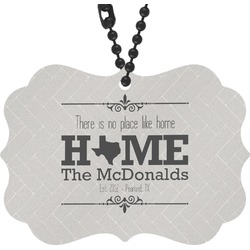 Home State Rear View Mirror Charm (Personalized)