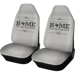 Home State Car Seat Covers (Set of Two) (Personalized)