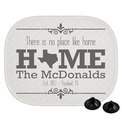 Home State Car Side Window Sun Shade (Personalized)