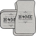 Home State Car Floor Mats (Personalized)