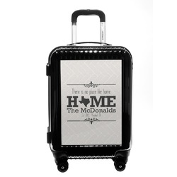 Home State Carry On Hard Shell Suitcase (Personalized)