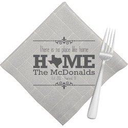 Home State Napkins (Set of 4) (Personalized)