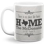 Home State 11 Oz Coffee Mug - White (Personalized)