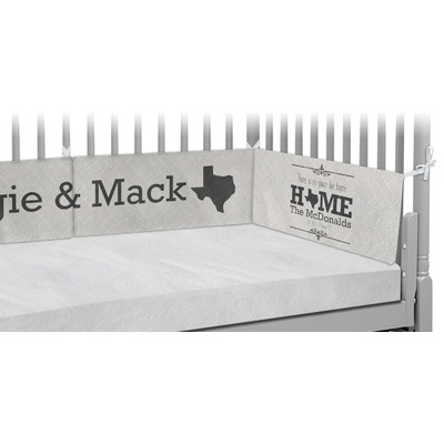 Home State Crib Bumper Pads (Personalized)