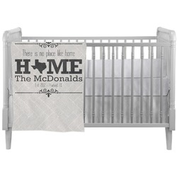 Home State Crib Comforter / Quilt (Personalized)