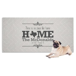 Home State Pet Towel (Personalized)