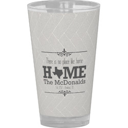 Home State Drinking / Pint Glass (Personalized)