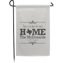 Home State Single Sided Garden Flag (Personalized)