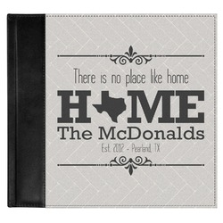 Home State Genuine Leather Baby Memory Book (Personalized)