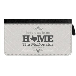 Home State Genuine Leather Ladies Zippered Wallet (Personalized)