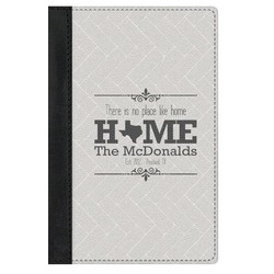 Home State Genuine Leather Passport Cover (Personalized)