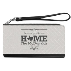 Home State Genuine Leather Smartphone Wrist Wallet (Personalized)
