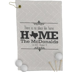Home State Golf Towel - Full Print (Personalized)
