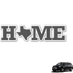 Home State Graphic Car Decal (Personalized)