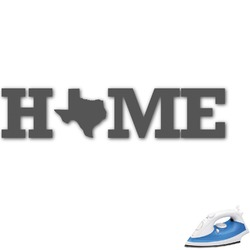 Home State Graphic Iron On Transfer (Personalized)