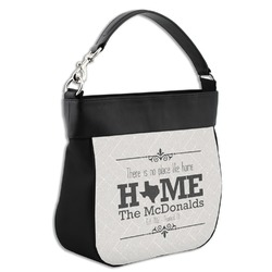Home State Hobo Purse w/ Genuine Leather Trim (Personalized)