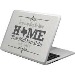 Home State Laptop Skin - Custom Sized (Personalized)