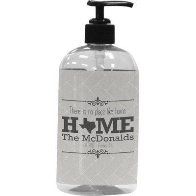 Home State Plastic Soap / Lotion Dispenser (Personalized)