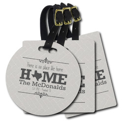 Home State Plastic Luggage Tags (Personalized)