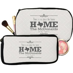 Home State Makeup / Cosmetic Bag (Personalized)