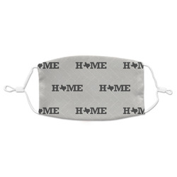 Home State Adult Cloth Face Mask (Personalized)