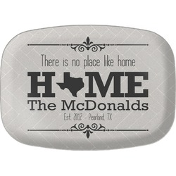 Home State Melamine Platter (Personalized)