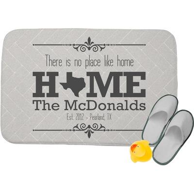 Home State Memory Foam Bath Mat (Personalized)