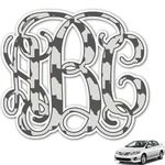 Home State Monogram Car Decal (Personalized)