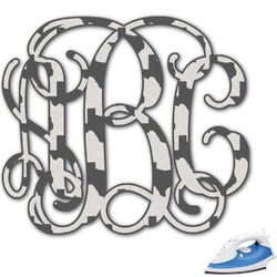 Home State Monogram Iron On Transfer (Personalized)
