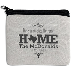 Home State Rectangular Coin Purse (Personalized)